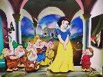 Snow White  Original Painting - (Fernando de Jesus Oliviera) Ferjo