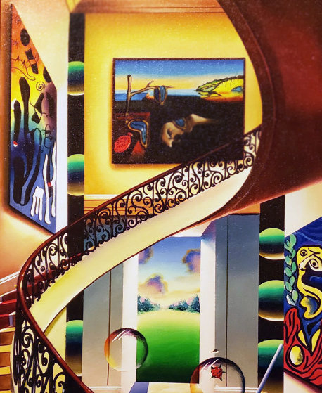Dali Above the Garden Door 2019 Limited Edition Print by (Fernando de Jesus Oliviera) Ferjo