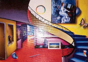 Piano Room 1990 Limited Edition Print - (Fernando de Jesus Oliviera) Ferjo