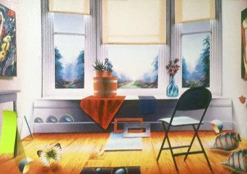 Windowsill Magic 1999 Limited Edition Print - (Fernando de Jesus Oliviera) Ferjo