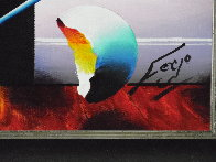 Window to Happiness 2014 26x30 Original Painting by (Fernando de Jesus Oliviera) Ferjo - 3