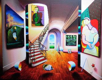 Dreams of Sweet Beauty 54x66 Original Painting - (Fernando de Jesus Oliviera) Ferjo