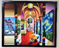 Vision of Loveliness 2016 45x53 Super Huge Original Painting by (Fernando de Jesus Oliviera) Ferjo - 1