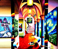 Vision of Loveliness 2016 45x53 Super Huge Original Painting by (Fernando de Jesus Oliviera) Ferjo - 0