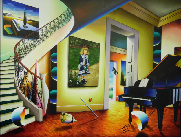 Classical Masterpiece 2015 54x66 Original Painting by (Fernando de Jesus Oliviera) Ferjo