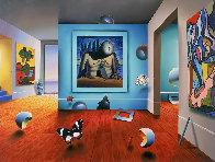 Homage to Dali AP 2001 Limited Edition Print by (Fernando de Jesus Oliviera) Ferjo - 0
