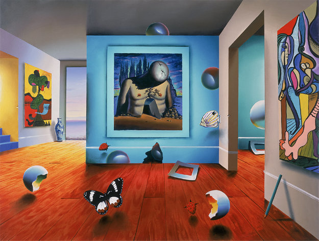 Homage to Dali AP 2001 Limited Edition Print by (Fernando de Jesus Oliviera) Ferjo