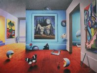 Homage to Dali Limited Edition Print by (Fernando de Jesus Oliviera) Ferjo - 1