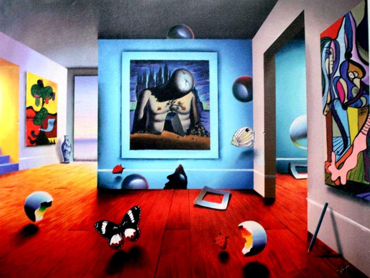 Homage to Dali Limited Edition Print by (Fernando de Jesus Oliviera) Ferjo