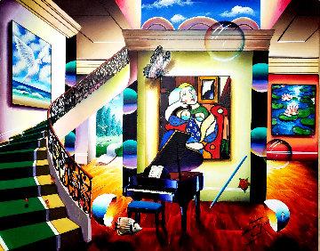 Calling Picasso 30x24 Original Painting - (Fernando de Jesus Oliviera) Ferjo