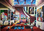 Sky Gallery Original Painting - (Fernando de Jesus Oliviera) Ferjo