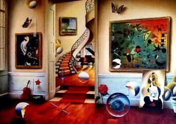 Untitled Painting 2008 60x81 Super Huge  Original Painting - (Fernando de Jesus Oliviera) Ferjo