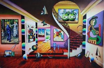 Masters Party 2020 40x60 Original Painting - (Fernando de Jesus Oliviera) Ferjo