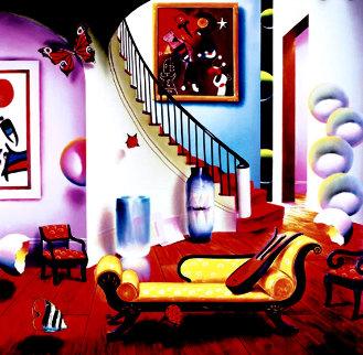 Yellow Couch Limited Edition Print - (Fernando de Jesus Oliviera) Ferjo