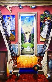 Untitled Painting 2020 60x40 Original Painting - (Fernando de Jesus Oliviera) Ferjo