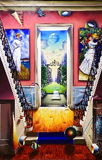 Untitled Painting 2020 60x40 Super Huge Original Painting - (Fernando de Jesus Oliviera) Ferjo