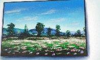 Miro Floral Meadow 30x40 Super Huge Original Painting by (Fernando de Jesus Oliviera) Ferjo - 3