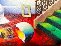 Sleeping Beauty 24x20 Original Painting by (Fernando de Jesus Oliviera) Ferjo - 3
