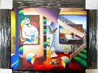 Sleeping Beauty 26x30 Original Painting by (Fernando de Jesus Oliviera) Ferjo - 1