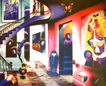 Picasso Lover AP Limited Edition Print - (Fernando de Jesus Oliviera) Ferjo