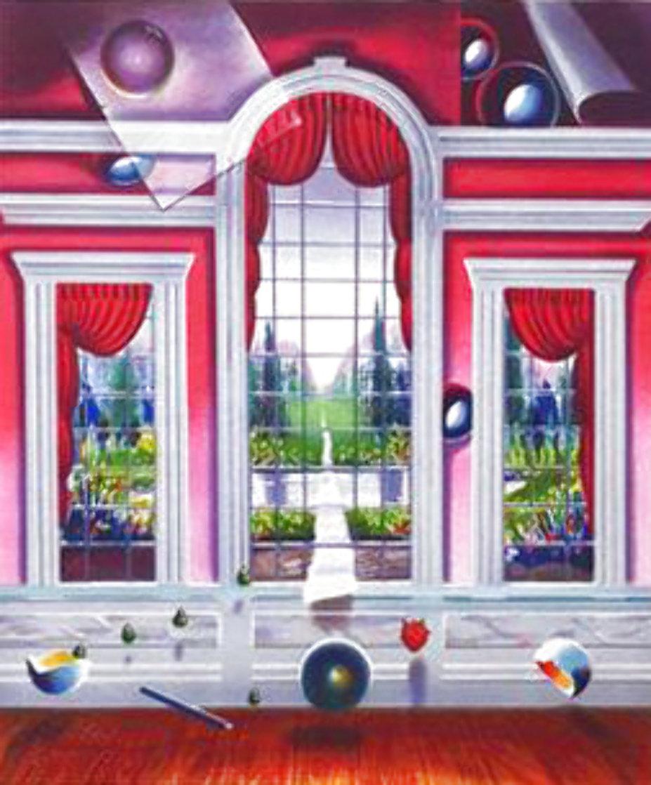Red Room Limited Edition Print by (Fernando de Jesus Oliviera) Ferjo