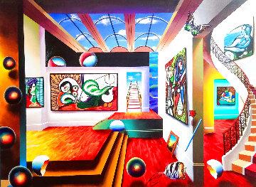 Picasso Gallery 2019 45x55 Huge Original Painting - (Fernando de Jesus Oliviera) Ferjo