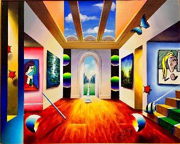 Untitled Painting 2019 30x36 Original Painting - (Fernando de Jesus Oliviera) Ferjo