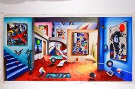 Gallery of the Masters 2002 48x98   Super Huge Original Painting by (Fernando de Jesus Oliviera) Ferjo - 1