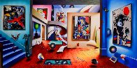 Gallery of the Masters 2002 48x98   Super Huge Original Painting by (Fernando de Jesus Oliviera) Ferjo - 0