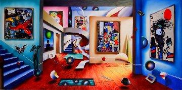 Gallery of the Masters 2002 48x98  Huge Original Painting - (Fernando de Jesus Oliviera) Ferjo