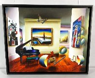 Room With the Masters 2007 32x26 Original Painting by (Fernando de Jesus Oliviera) Ferjo - 2