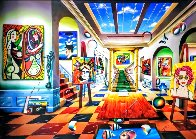 Past Meet Future 2021 80x60 Super Huge Original Painting by (Fernando de Jesus Oliviera) Ferjo - 1