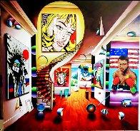 Looking At You Babe 2021 60x60 Huge Original Painting by (Fernando de Jesus Oliviera) Ferjo - 1