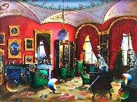 Surreal Room 30x40 Huge Original Painting by (Fernando de Jesus Oliviera) Ferjo - 0