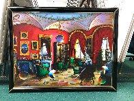 Surreal Room 30x40 Huge Original Painting by (Fernando de Jesus Oliviera) Ferjo - 1