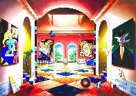 Grand Hallway 50x70 Huge Original Painting by (Fernando de Jesus Oliviera) Ferjo - 0