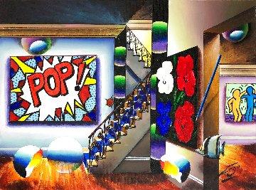 Pop! 18x24 Original Painting - (Fernando de Jesus Oliviera) Ferjo