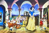 Snow White And the Seven Dwarves Original 2021 24x36 Original Painting by (Fernando de Jesus Oliviera) Ferjo - 0
