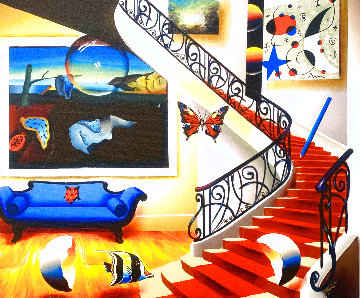 Timeless Stairway 2004 Limited Edition Print - (Fernando de Jesus Oliviera) Ferjo