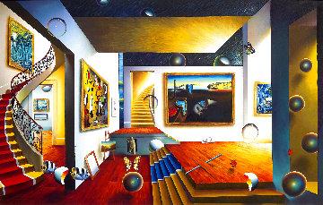 Maze 2004 54x85 Huge Original Painting - (Fernando de Jesus Oliviera) Ferjo