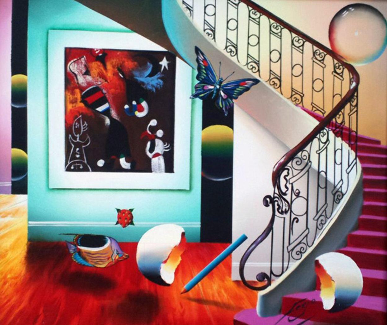 Untitled Painting 27x31 Original Painting by (Fernando de Jesus Oliviera) Ferjo