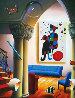 Untitled Interior  with Miro Painting 37x31 Original Painting by (Fernando de Jesus Oliviera) Ferjo - 0
