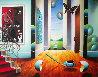 Untitled Interior 1996 24x30 Original Painting by (Fernando de Jesus Oliviera) Ferjo - 0