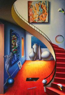 Untitled Painting 68x48 Original Painting - (Fernando de Jesus Oliviera) Ferjo