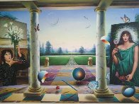 Untitled Painting 40x60 Super Huge Original Painting by (Fernando de Jesus Oliviera) Ferjo - 1