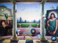 Untitled Painting 40x60 Super Huge Original Painting by (Fernando de Jesus Oliviera) Ferjo - 0