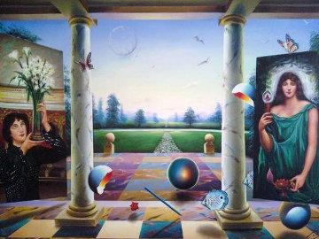 Untitled Painting 40x60 Original Painting - (Fernando de Jesus Oliviera) Ferjo