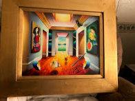 An Upside Down Perspective 2012 27x33 Original Painting by (Fernando de Jesus Oliviera) Ferjo - 1