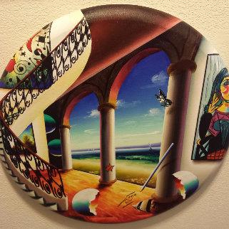 Scenic Waters 22x22 Original Painting by (Fernando de Jesus Oliviera) Ferjo