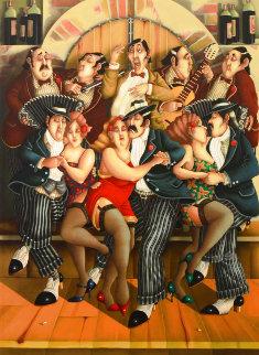 Tango 1998 Limited Edition Print - Carlos Ferreyra